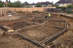 Evesham Footings